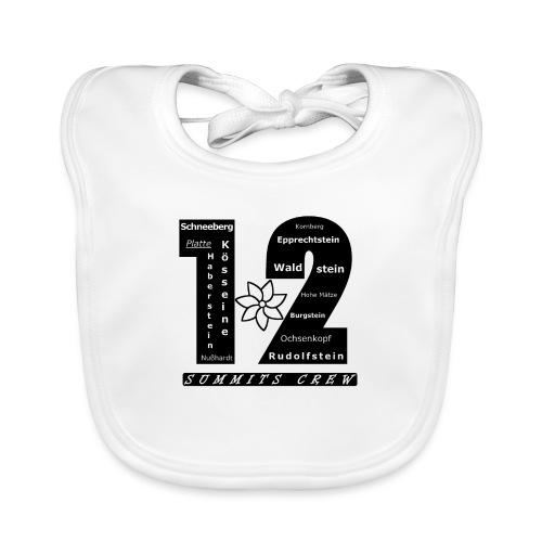 12SC Gipfel - Baby Bio-Lätzchen