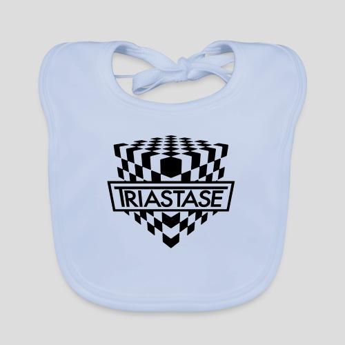 Triastase Logo Black - Baby Organic Bib