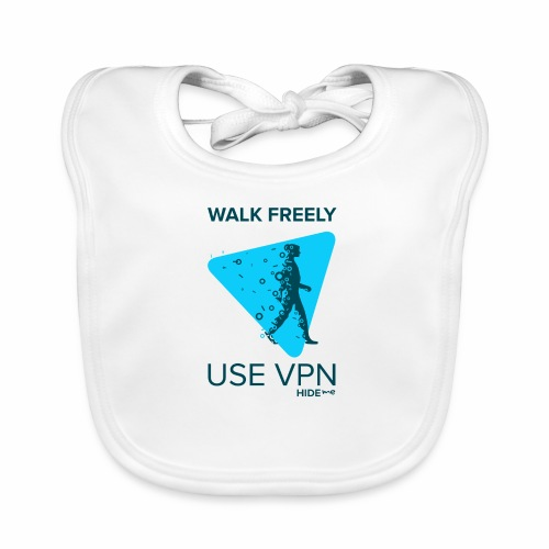 Walk Freely - Baby Organic Bib