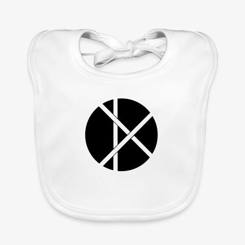 Don Logo - musta - Vauvan ruokalappu