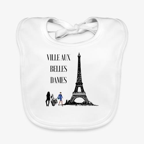 Paris Ville aux belles dames - Bavoir bio Bébé