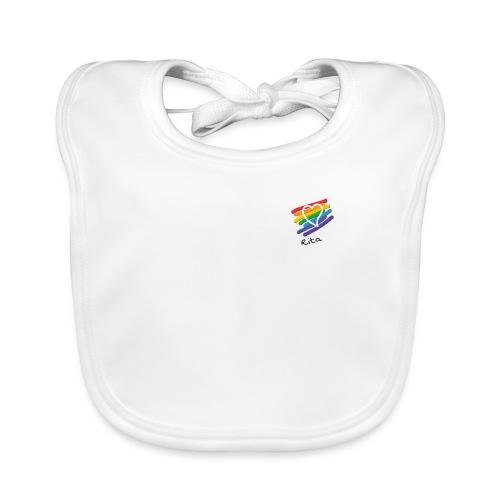 Rita color - Babero de algodón orgánico para bebés