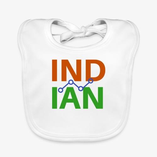 INDIAN CUSTOMISED TSHIRT - Ekologisk babyhaklapp