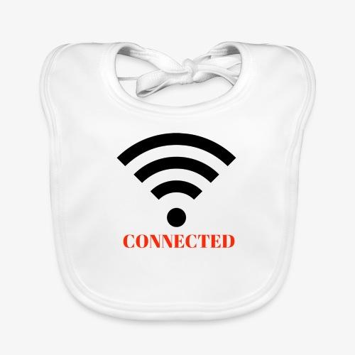 CONNECTED - Ekologisk babyhaklapp