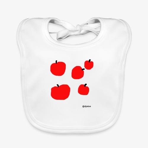 Omenat - Vauvan luomuruokalappu