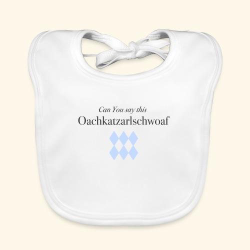 Can You say this - Baby Bio-Lätzchen