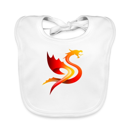 Slay Dragons - Vauvan luomuruokalappu
