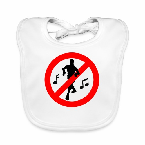No Dancing Allowed - Baby Organic Bib