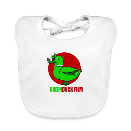 Greenduck Film Red Sun Logo - Hagesmække af økologisk bomuld