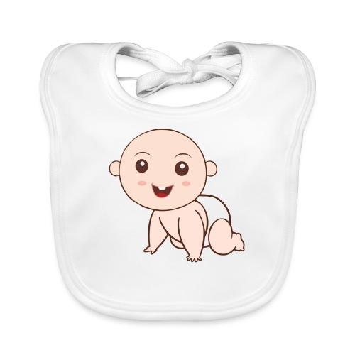 Liegendes Baby - Baby Bio-Lätzchen