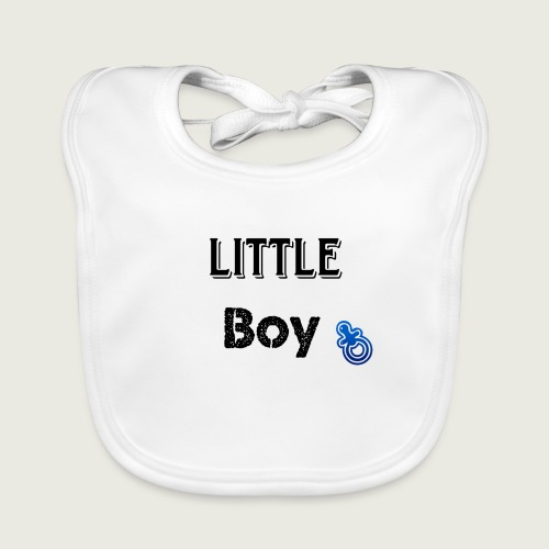 Little boy - Bavoir bio Bébé