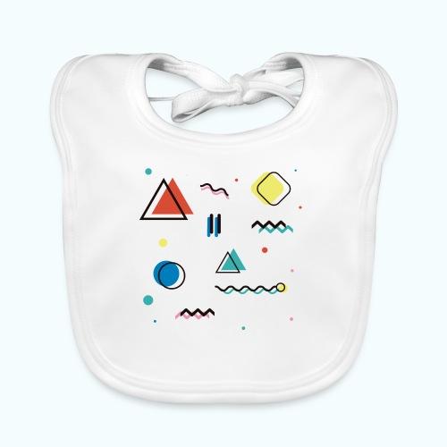 Abstract geometry - Baby Organic Bib