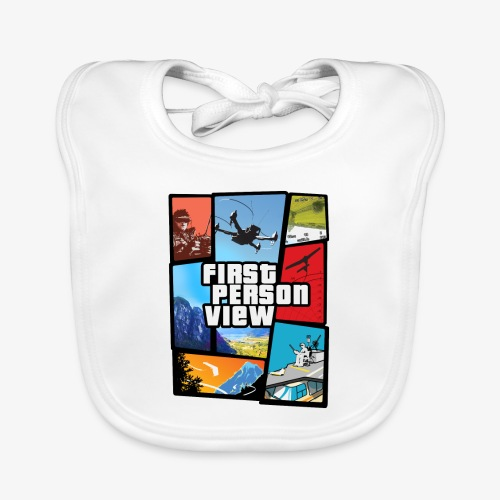 Ultimate Video Game - Organic Baby Bibs