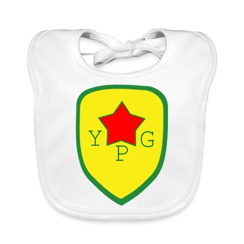 Unisex Red YPG Support Hoodie - Vauvan luomuruokalappu
