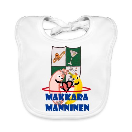 Makkara Manninen -vauvan body - Vauvan ruokalappu