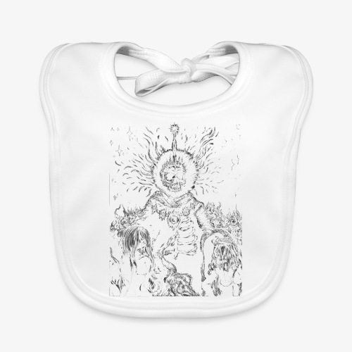 The King - Baby Organic Bib