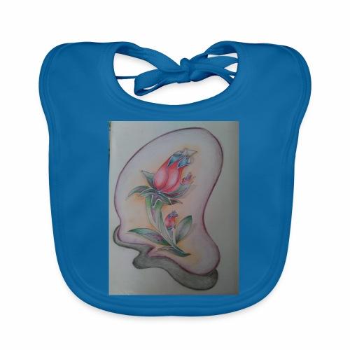 fiore magico - Bavaglino ecologico per neonato