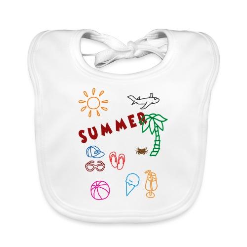 Summer - Vauvan luomuruokalappu