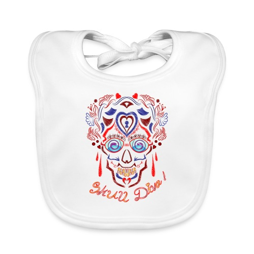 Skull Tattoo Art - Baby Organic Bib