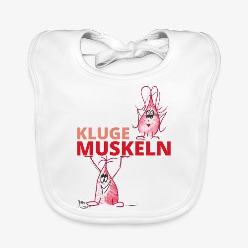 Kluge Muskeln - Baby Bio-Lätzchen