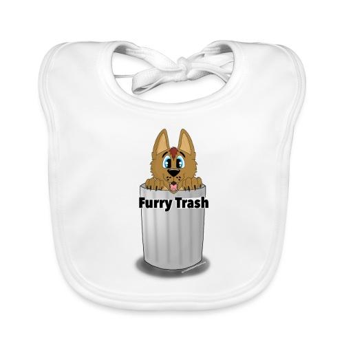 Furry Trash - Baby økologisk hagesmæk