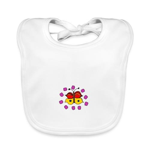 Butterfly colorful - Baby Organic Bib