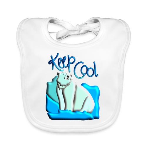 Eisbär- Keep Cool - Baby Bio-Lätzchen