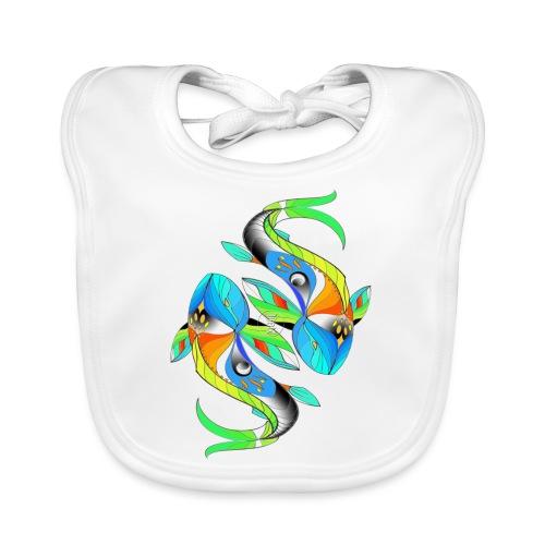 Regenbogenfische - Baby Bio-Lätzchen