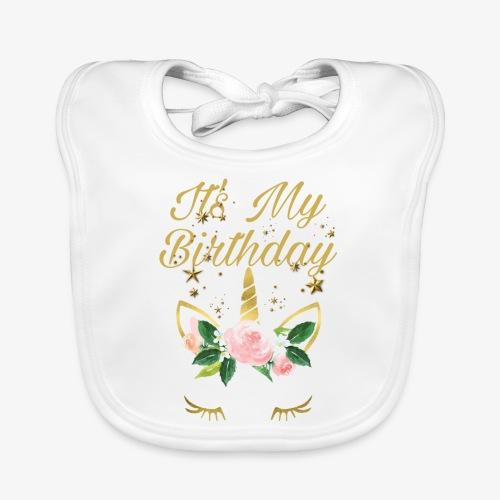 It's My Birthday - Bavaglino ecologico per neonato