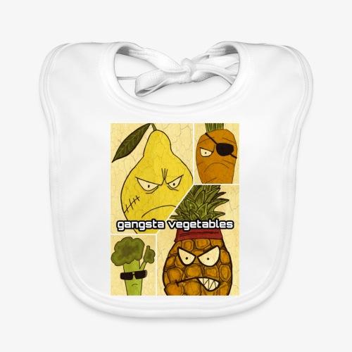 Gangsta Vegetables - Bavoir bio Bébé