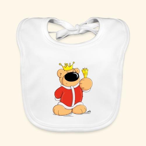 Der Bärenkönig - Baby Bio-Lätzchen