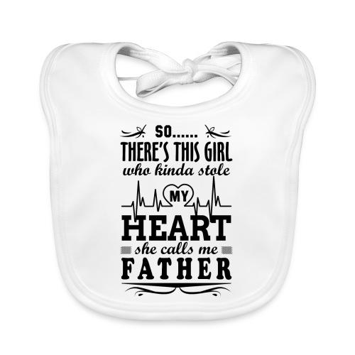 My Heart She Calls Me Father - Organic Baby Bibs