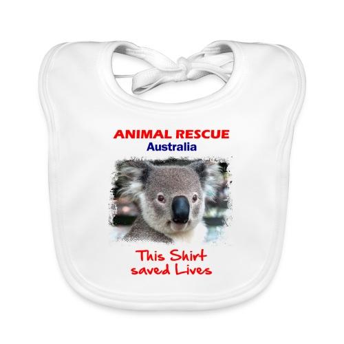 Australien KOALA RESCUE - Spendenaktion - Baby Bio-Lätzchen