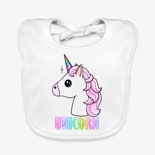 Unicorn - Bavaglino ecologico per neonato