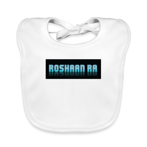 Special RoshaanRa Blue - Organic Baby Bibs