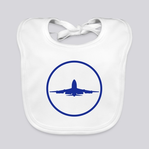 IVAO (Blue Symbol) - Organic Baby Bibs