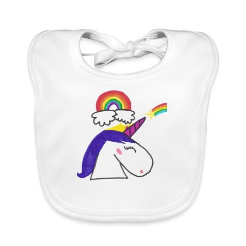 Unicorno arcobaleno - Bavaglino