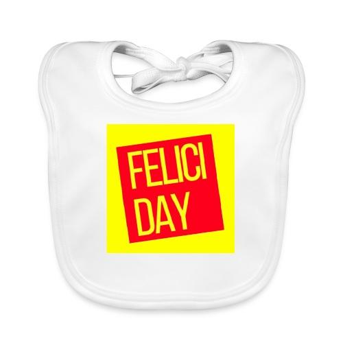 Feliciday - Babero de algodón orgánico para bebés
