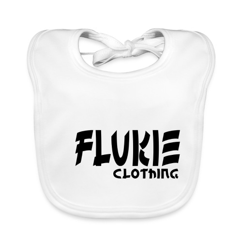 Flukie Clothing Japan Sharp Style - Baby Organic Bib