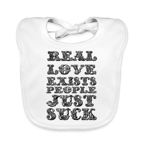 Real Love Exists REBEL INC. - Ekologiczny śliniaczek