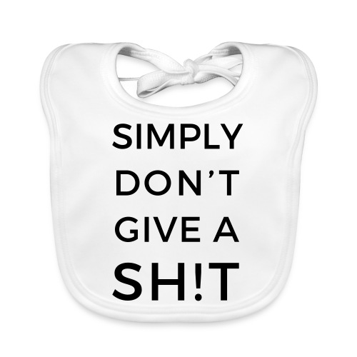 SIMPLY DON'T GIVE A SH!T - Bavaglino