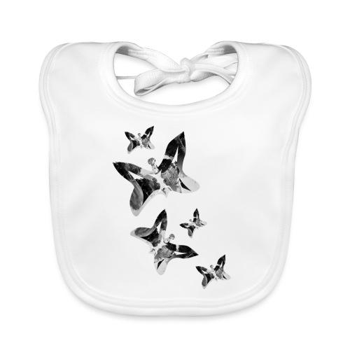 Schmetterlinge - Baby Bio-Lätzchen