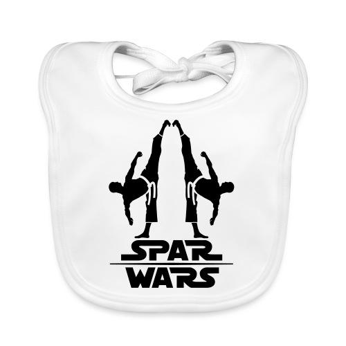 Spar Wars Martial Art - Baby Organic Bib