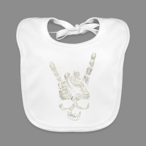 Mano Skull - Babero ecológico bebé