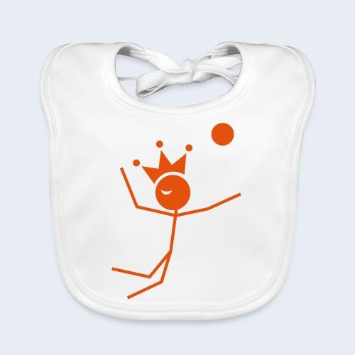 Volleybalkoning - Bio-slabbetje voor baby's