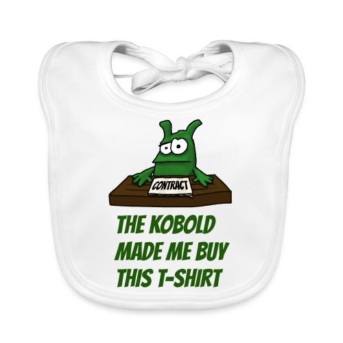 Kobold made me buy - Baby Organic Bib