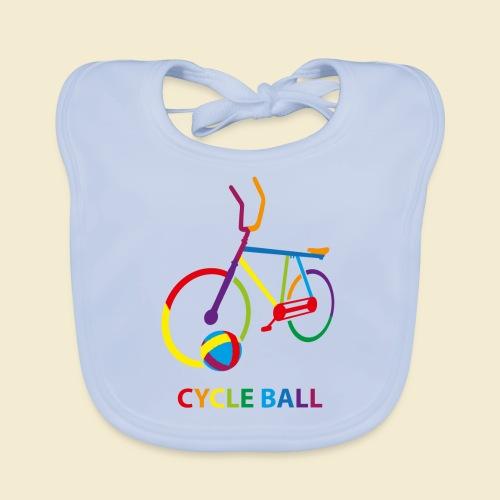 Radball | Cycle Ball Rainbow - Baby Bio-Lätzchen