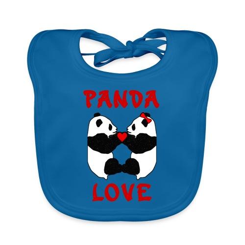 Panda Love - Organic Baby Bibs