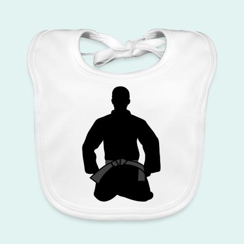 Judo Schwarzgurt - Baby Bio-Lätzchen