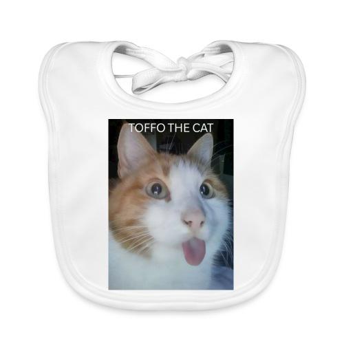 TOFFO THE CAT - Vauvan luomuruokalappu